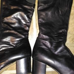 Sigerson Morrison EUC black fine leather boots 7.5
